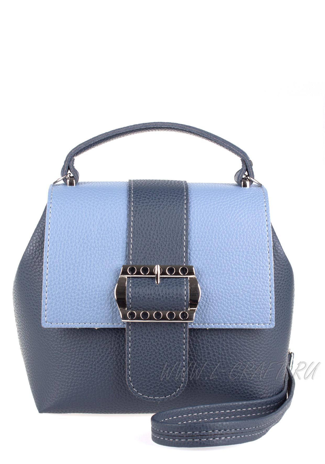 Модель №V139 | кожзам | гладкий | синий голубой | Р775-8 | 25608
